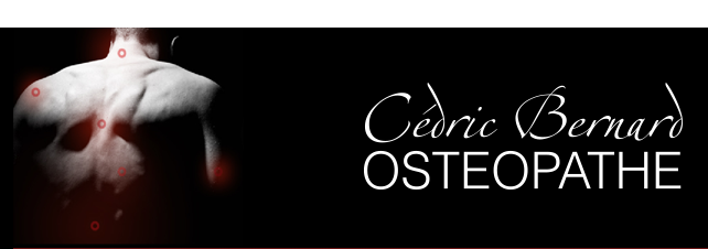 Cédric Bernard ostéopathe