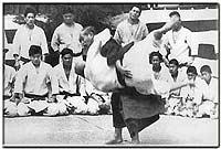 Combat de Maître Jigoro Kano